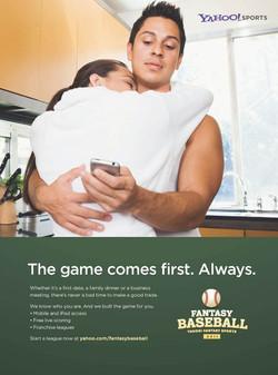 Yahoo! Fantasy Baseball Ad
