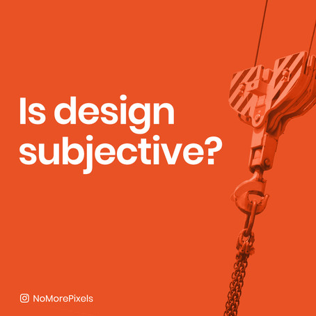 Is design subjective?