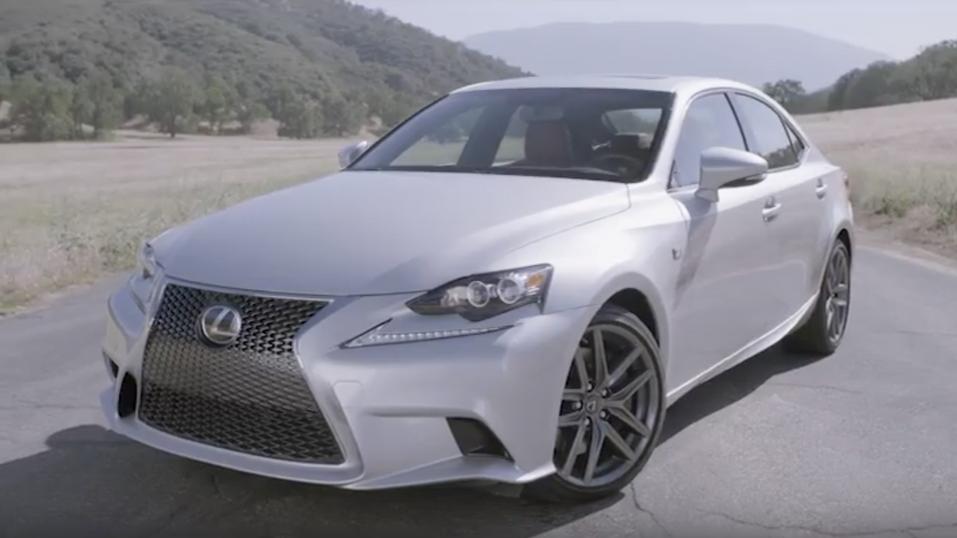 Lexus Ad: IS F Sport