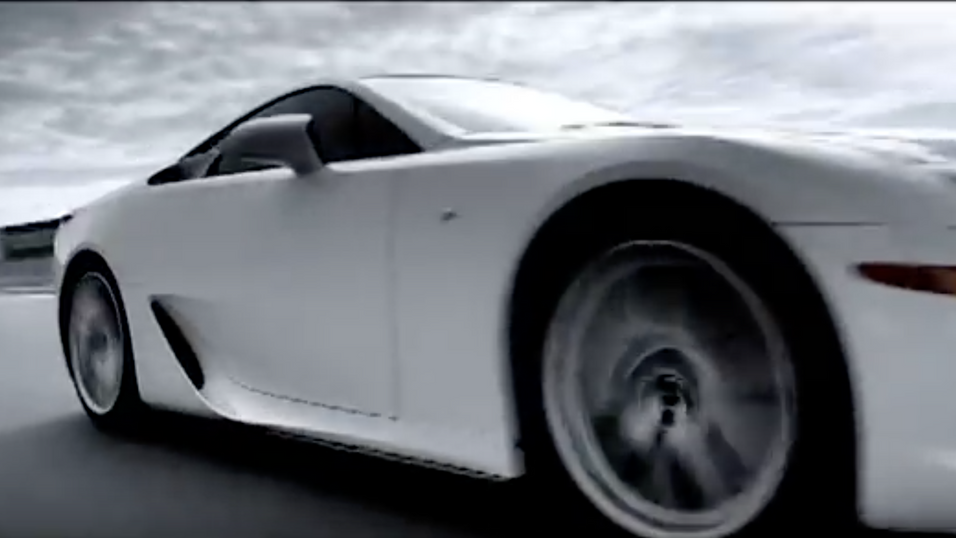 Lexus Ad: What Is F Sport