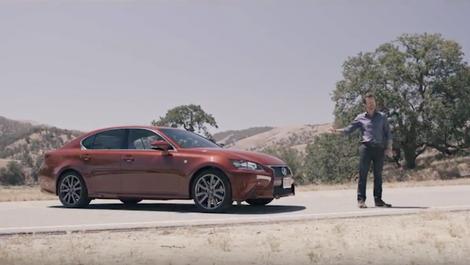 Lexus Ad: GS F Sport