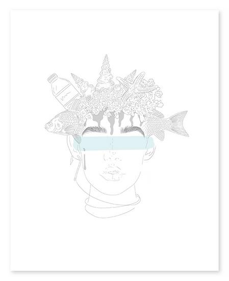 Coralline Fine Art Illustration