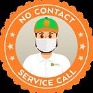 NoContactServiceCall-Icon-orangepestcont
