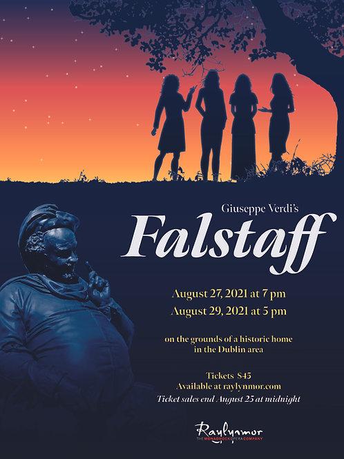 Giuseppe Verdi's Falstaff (August 29)