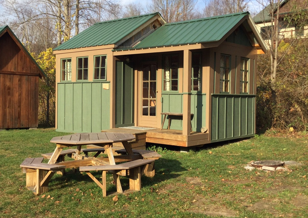 cabin camping cabins