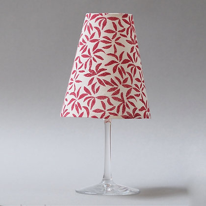 Abat-jour verre à vin / Wine glass lampshade