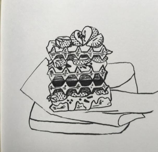 Gauffre gourmande