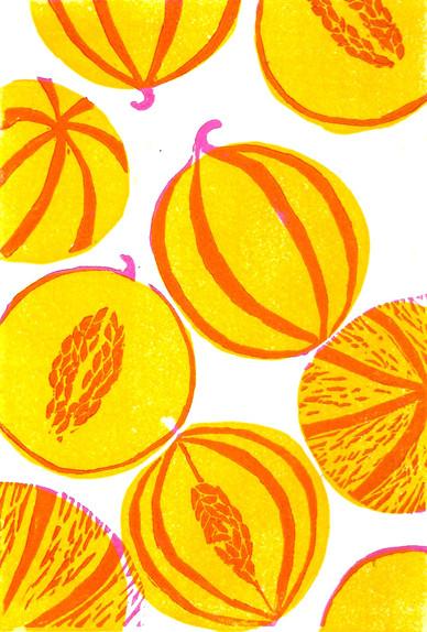 Les fruits et légumes ronds