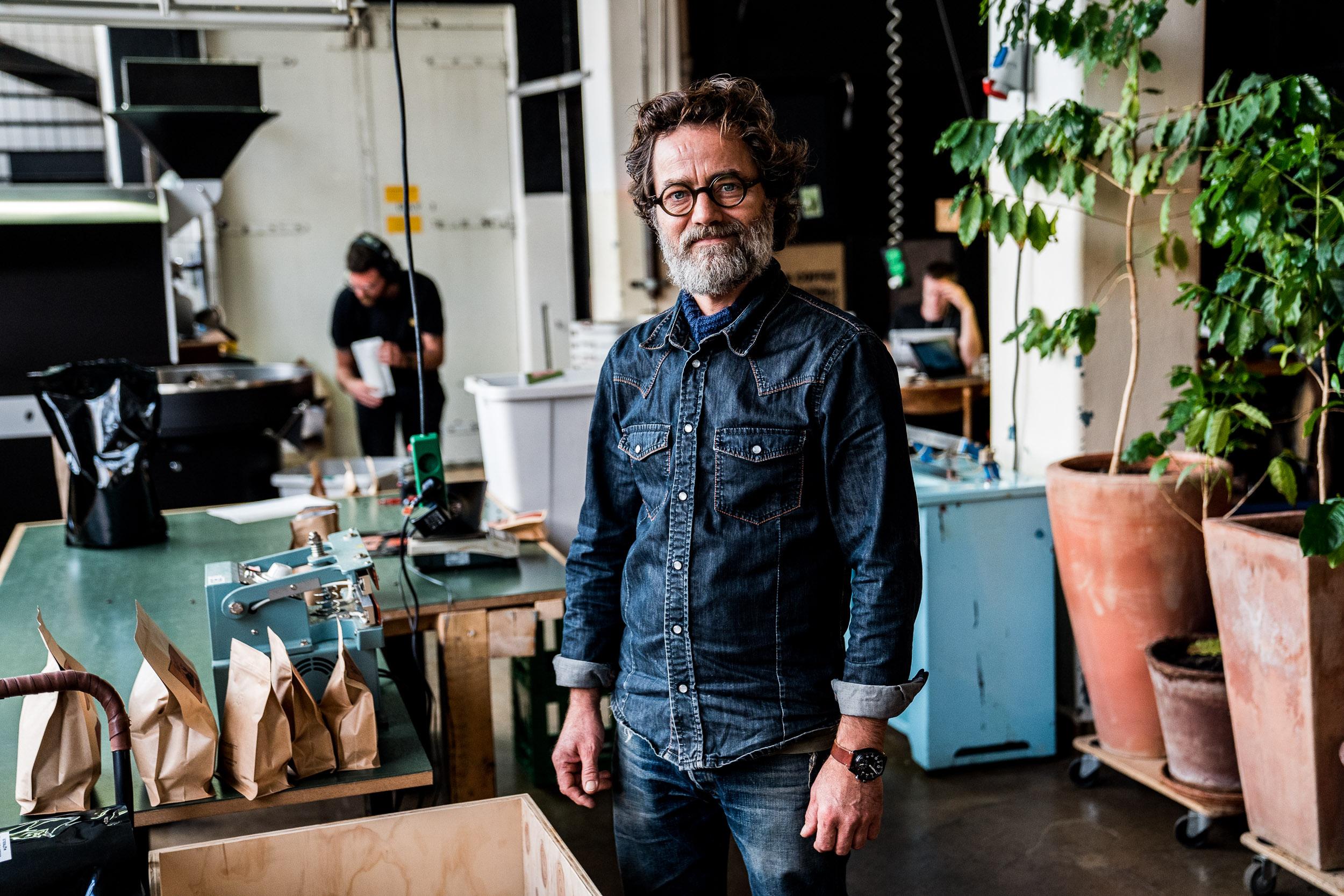 Sigfreds kaffefabrik Portrætfoto