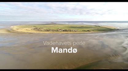 Dronevideo af Mandø, produceret for Visit Ribe