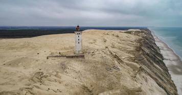 Dronefoto, Rybjerg Knude Fyr