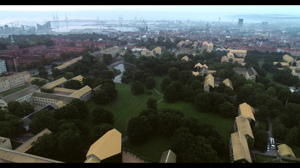 Drone Aarhus Universitet.mov