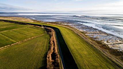 Dronefoto, Mandø