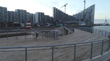 Dronevideo af Aarhus havnebad