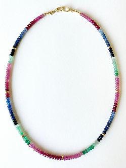 Precious Gemstone Necklace