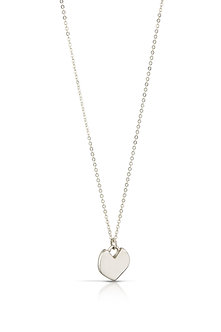 Imperfect Heart, Small Silver #16
