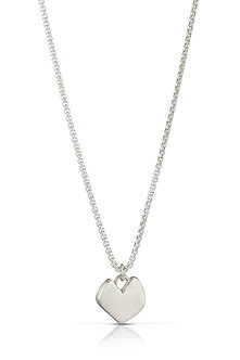 Imperfect Heart, Large Silver #15