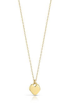 Imperfect Heart, Small 14K Gold #23