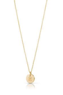 14K Gold Haiku Necklace