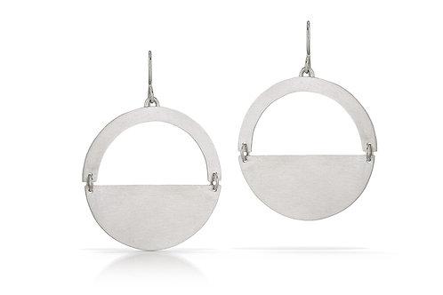 Semi-Circle Earrings
