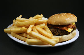 Our Bacon Cheeseburger Platter - Weekend Special