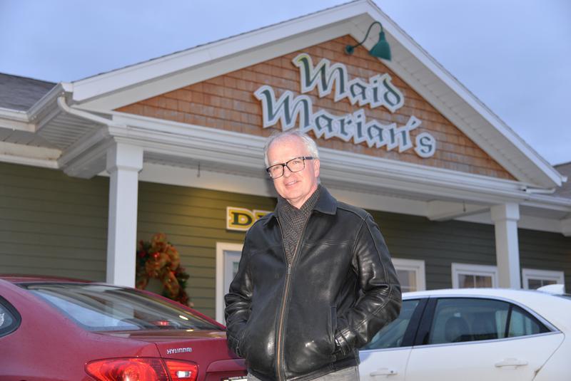 Robert MacLellan, new owner of Maid Marian's Diner