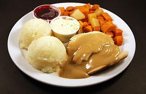 Our Thursday Daily Special - Roast Turkey Dinner