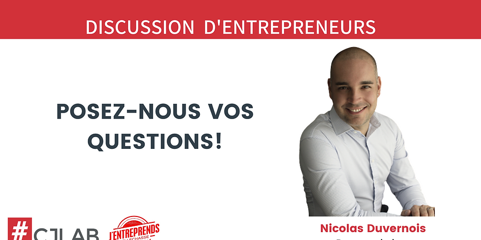 Discussion d'entrepreneurs