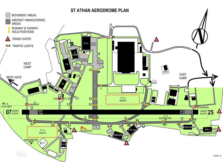 Saint Athan Airfield (EGDX)