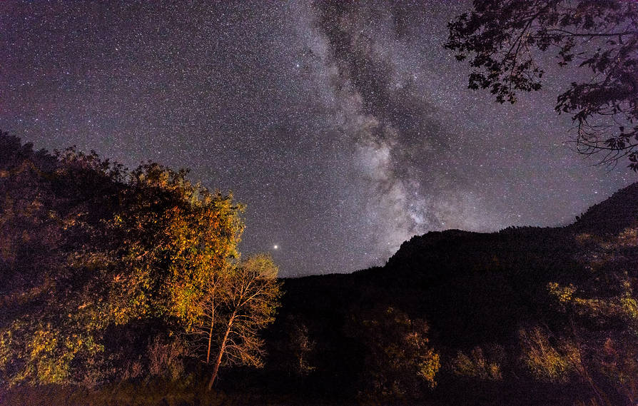 Milky Way Black Canyon of the Gunnison NP