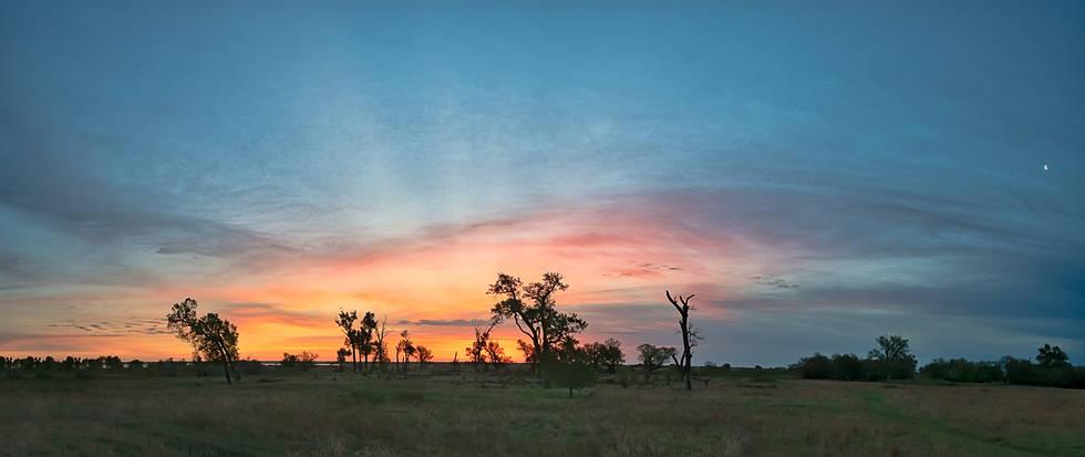 Kansas Sunrise Quivira National Wildlife Refugee