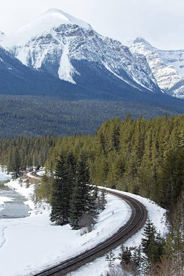 Railway S curve v