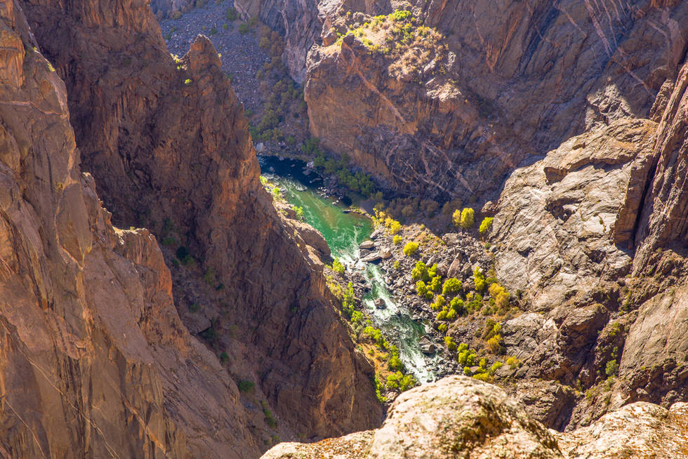 Black Canyon of the Gunnison NP.