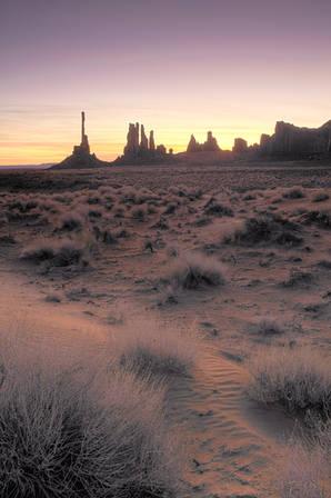 Sunrise, Monument Valley