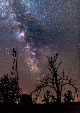 Milky Way and Farmstead Ruins