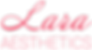 Lara_aesthetics_Logo_schrift_#eb3b5a.png