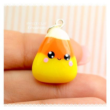 Candy Corn Kawaii Charm