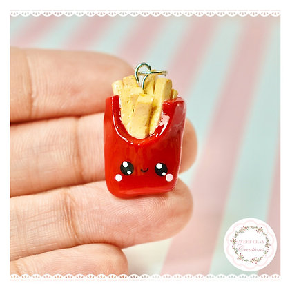 French Fries Kawaii Charm