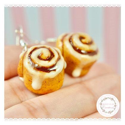 Cinnamon Rolls Earrings