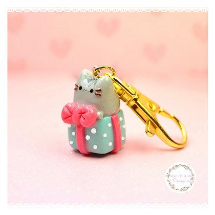 Pusheen Gift Keychain