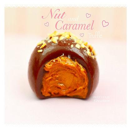 Nut and Caramel Truffle Charm