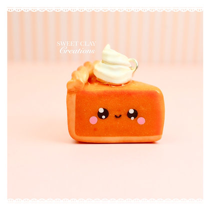 Pumpkin Pie Kawaii Charm