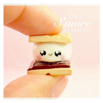 Mini S'mores Kawaii Charm
