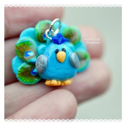 Peacock Charm