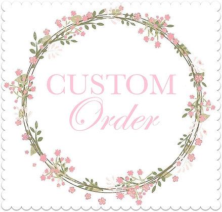 Custom Order for Patrice