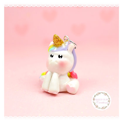 Unicorn Kawaii Charm