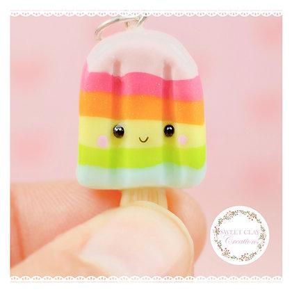 Soft Pastels Rainbow Popsicle Kawaii Charm