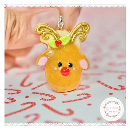 Rudolph Cookie Charm