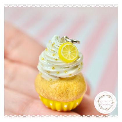 Lemon Cupcake Charm