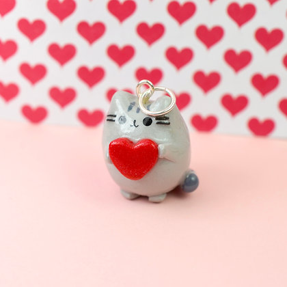 Pusheen Love Charm